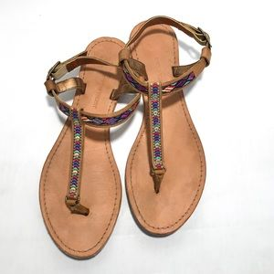 Cynthia Vincent Sedona Embroidered Sandals